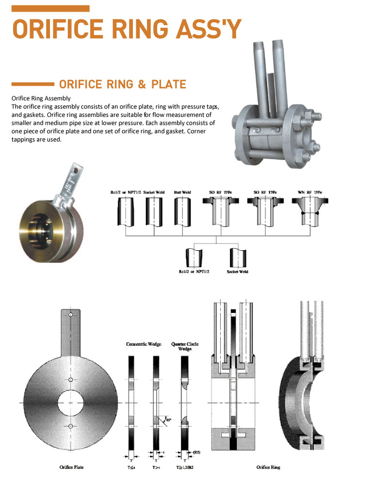 HITELFI Orifice Ring Assemblies